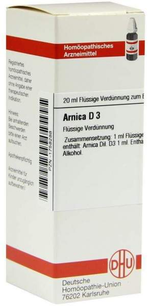 Arnica D 3 20 ml Dilution