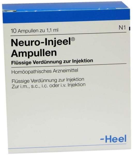 Neuro Injeel 10 Ampullen