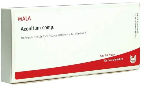 Aconitum Comp. 10x1 ml Ampullen