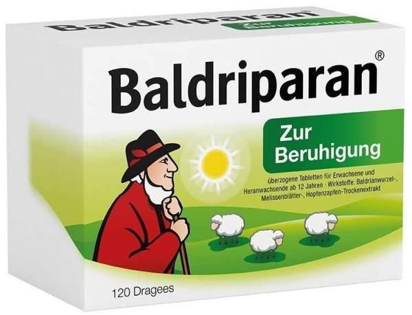 Baldriparan zur Beruhigung 120 überzogene Tabletten