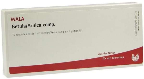 Betula Arnica Comp. Ampullen 10 X 1 ml
