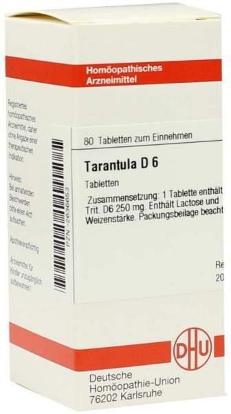 Tarantula D 6 Tabletten