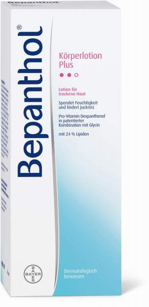 Bepanthol Körperlotion Plus 400 ml Lotion