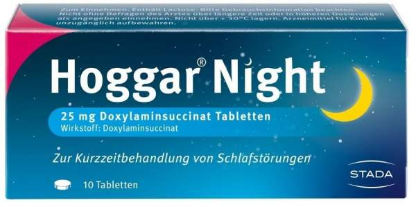 Hoggar Night 10 Tabletten