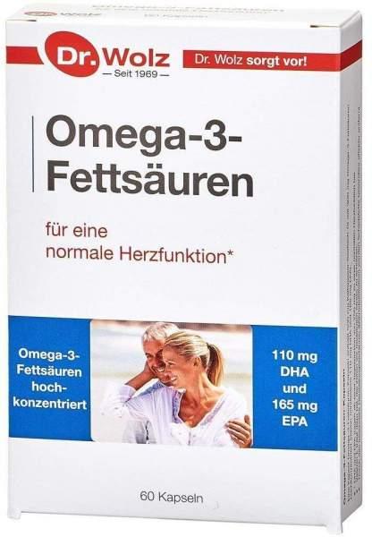 Omega 3 Fettsäuren 500 mg Kapseln 60 Kapseln