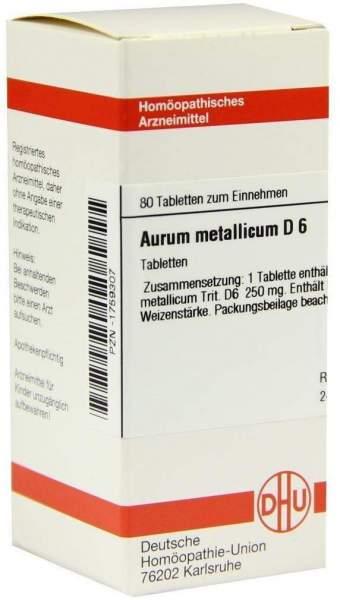 Aurum Metallicum D 6 80 Tabletten