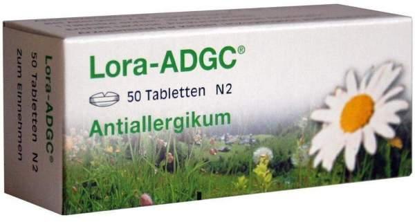 Lora-ADGC Antiallergikum 50 Tabletten