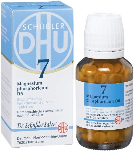 Biochemie DHU Nr. 7 Magnesium phosphoricum D6 200 Tabletten