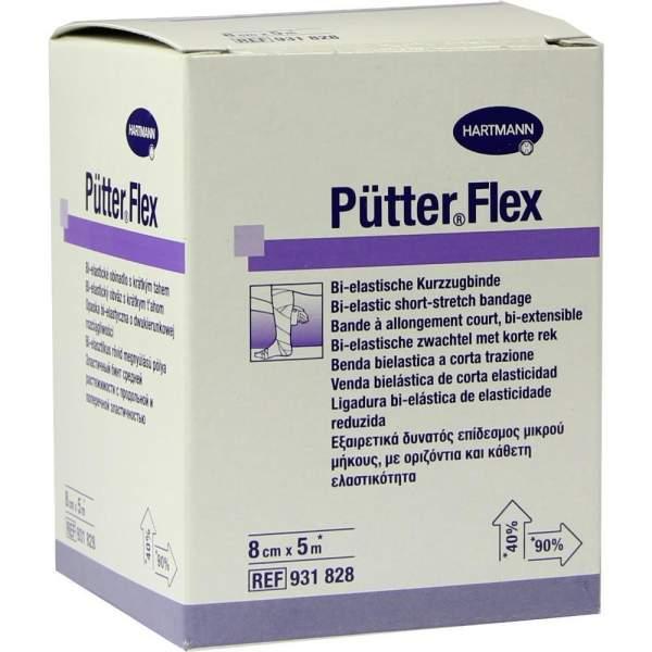 Pütter Flex Binde 8 cm X 5 M 1 Binde