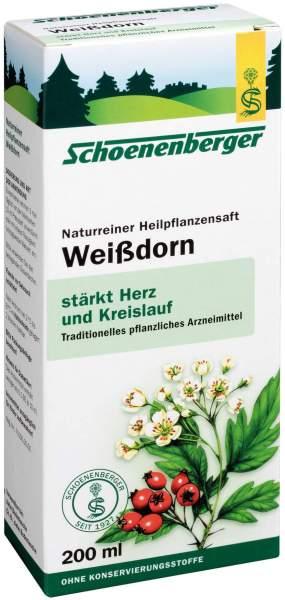 Weißdorn Saft Schoenenberger 200 ml Saft