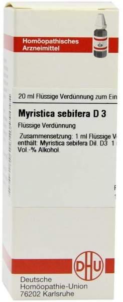 Myristica Sebifera D 3 Dilution