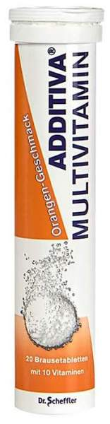 Additiva Multivitamin Plus Mineral Orange R 20 Brausetabletten