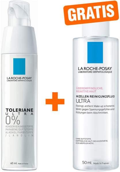 La Roche Posay Toleriane Ultra Creme 40 ml + gratis Reinigung Reactive Mizellen 50 ml