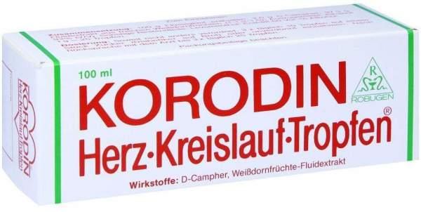 Korodin Herz-Kreislauf 100 ml Tropfen
