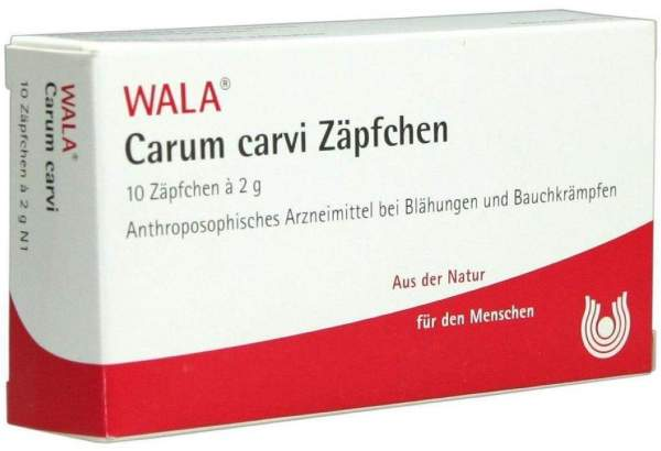 Carum Carvi 10 X 2 G Zäpfchen