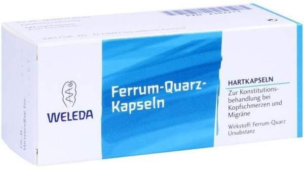 Ferrum Quarz 50 Hartkapseln