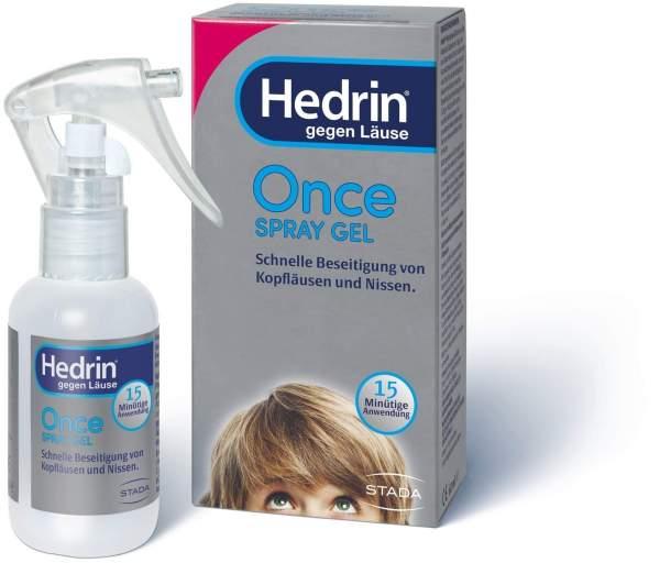 Hedrin Once 60 ml Spray Gel