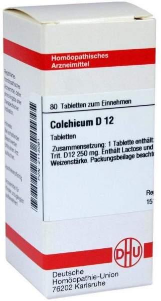 Colchicum D12 80 Tabletten