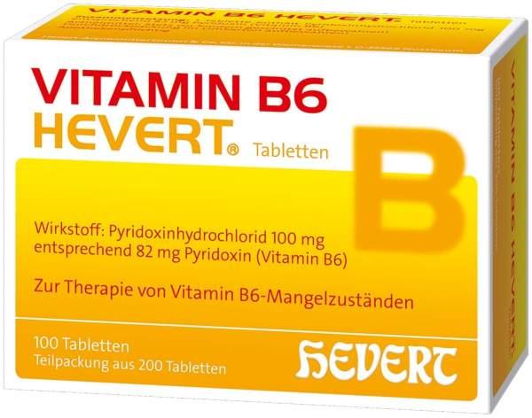 Vitamin B6 Hevert 200 Tabletten