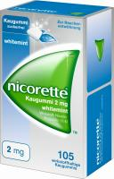 Nicorette Kaugummi 2 mg whitemint 105 Stück