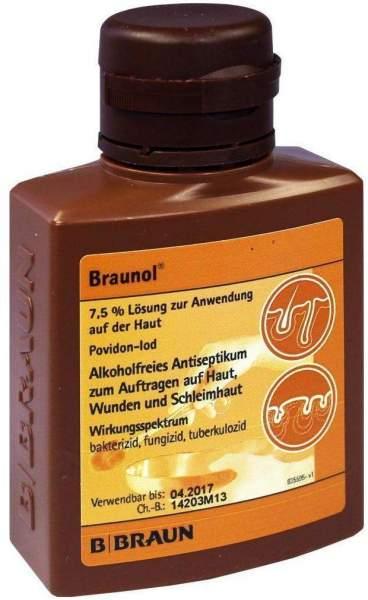 Braunol Schleimhautantiseptikum 100 ml Lösung