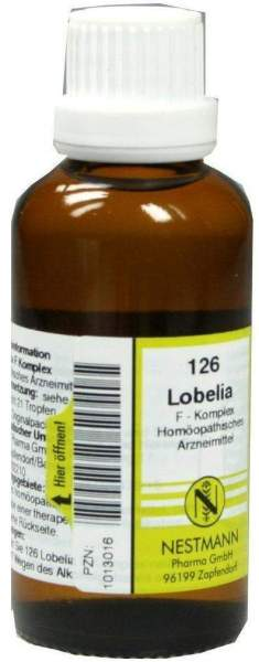 Lobelia F Komplex Nr.126 50 ml Dilution