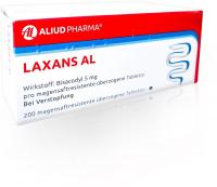 Laxans Al 200 magensaftresistente Tabletten