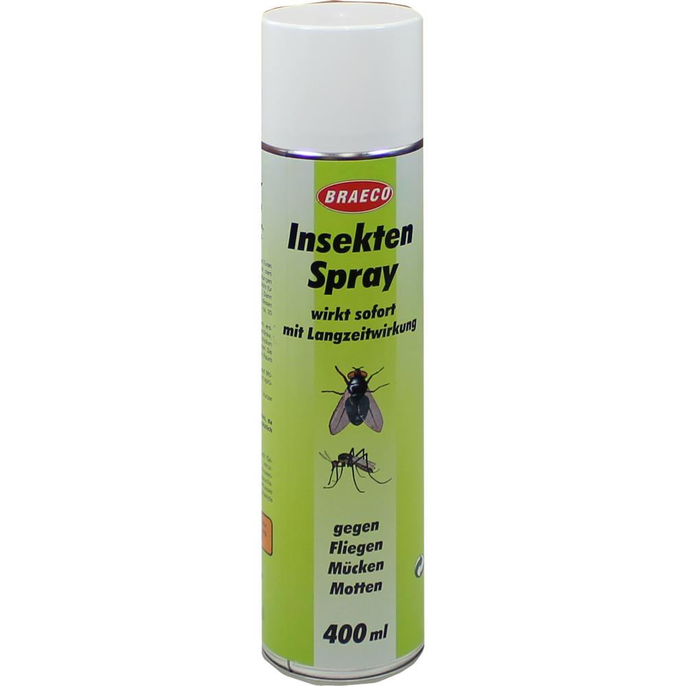 Braeco Insekten Spray gegen Fliegen, Mücken, Mo...