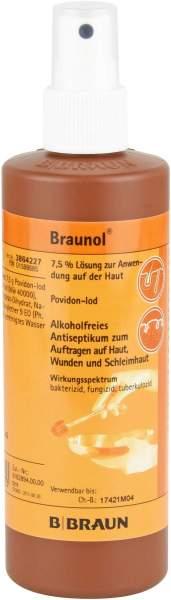 Braunol Schleimhautantiseptikum 20 X 250 ml Lösung