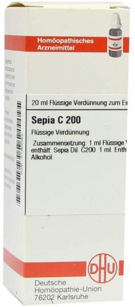 Sepia C 200 Dilution