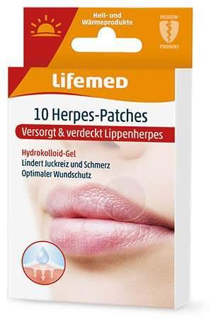 Lifemed Herpes-Patch, transparent, 10 Stück
