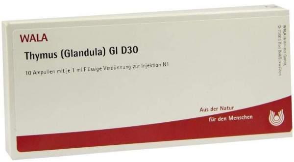 Thymus Glandula Gl D30 10 X 1 ml Ampullen