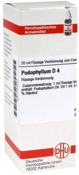 Podophyllum D4 Dilution 20 ml Dilution