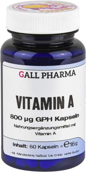 Vitamin A 800 µg Gph Kapseln
