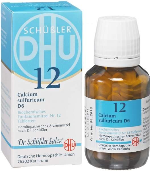 Biochemie DHU 12 Calcium sulfuricum D6 80 Tabletten
