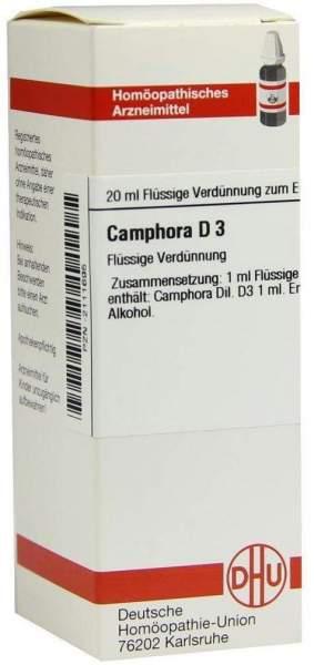 Camphora D 3 20 ml Dilution