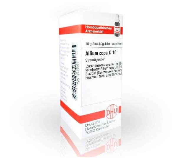 Allium Cepa D 10 Globuli