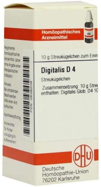 Digitalis D 4 Globuli
