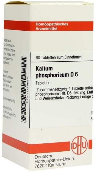Kalium Phosphoricum D6 Tabletten 80 Tabletten