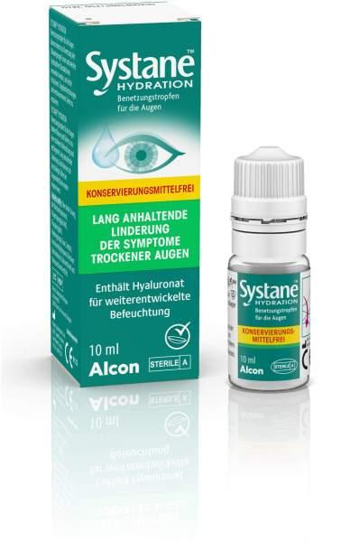 Systane Hydration ohne Konservierungsmittel 10 ml Augentropfen