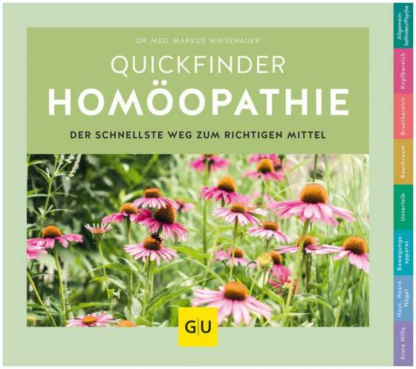 Quickfinder Homöopathie GU Buch 1 Stück