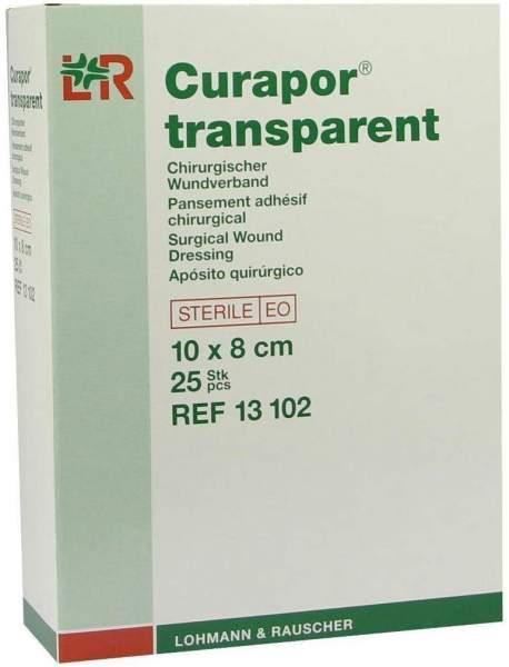 Curapor 25 Wundverbände Transparent 10 X 8 cm Steril