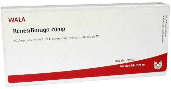 Renes Borago Comp. Ampullen 10 X 1 ml