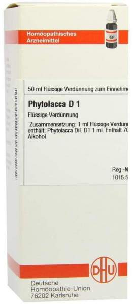 Phytolacca D1 Dilution 50 ml Dilution