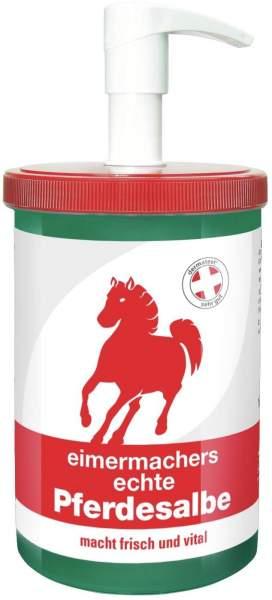 Eimermachers echte Pferdesalbe 1000 ml Dose mit Spender
