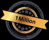 Über 1 Million zufriedene Kunden