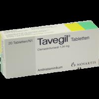 Tavegil Tabletten 20 Stück
