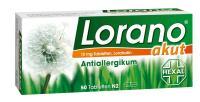 Lorano akut Antiallergikum 50 Tabletten