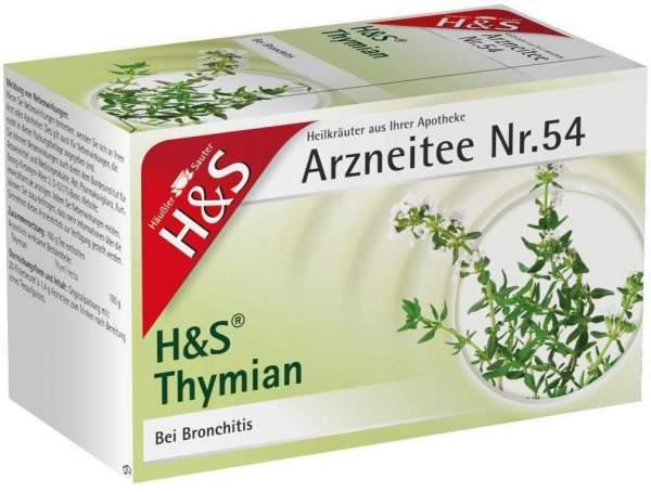 H&S Thymian 20 Filterbeutel