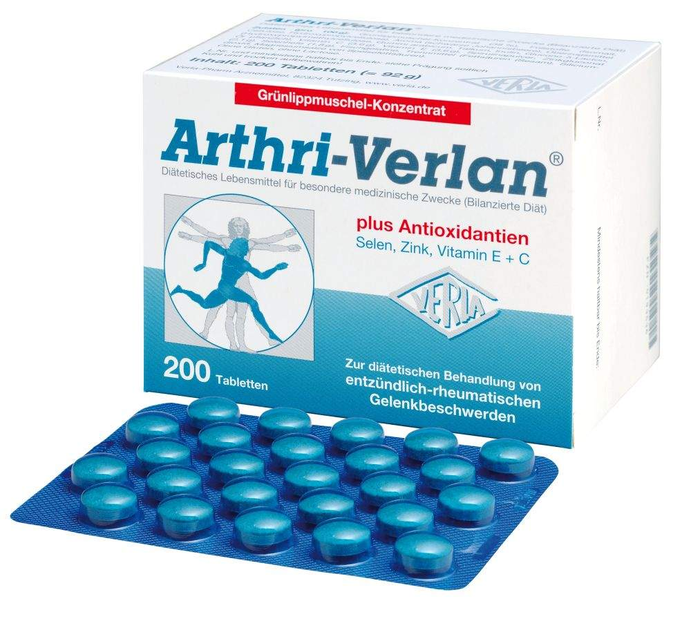 Arthri Verlan 200 Tabletten